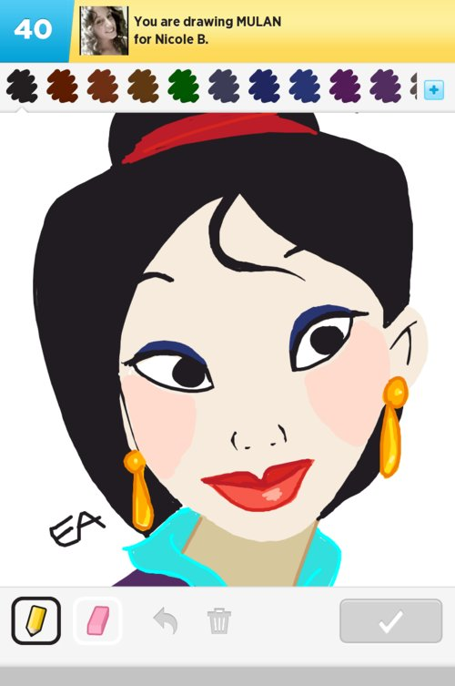 mulan drawings how to draw mulan in draw something the