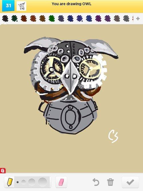 Owl._steampunk