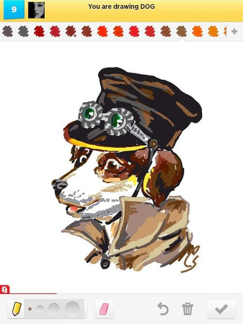 Dog__steampunk