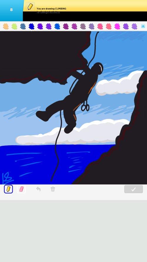 Climbing Drawings - Ho...