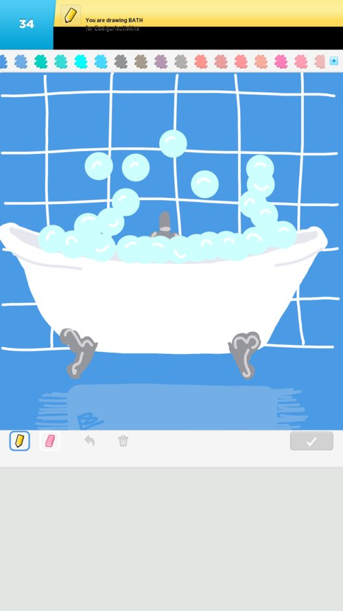 how to draw the perfect bath