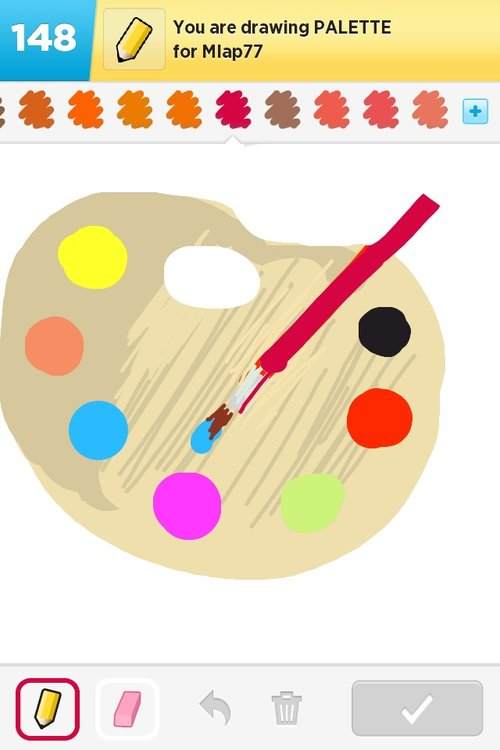 Palette Drawings The Best Draw Something Drawings And Draw