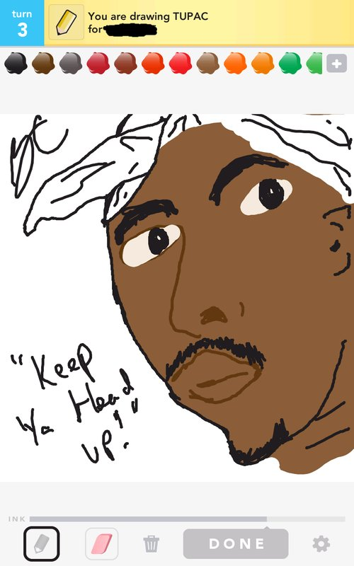 Tupac Drawings - The Best Draw Something Drawings and Draw