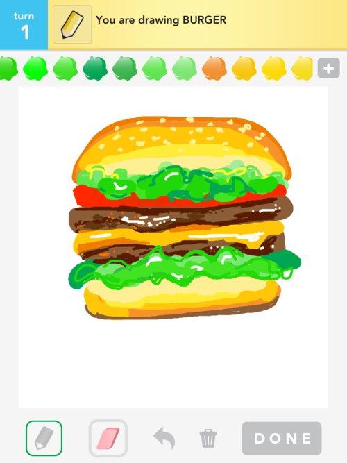 Simple Hamburger Drawing | www.imgkid.com - The Image Kid ...