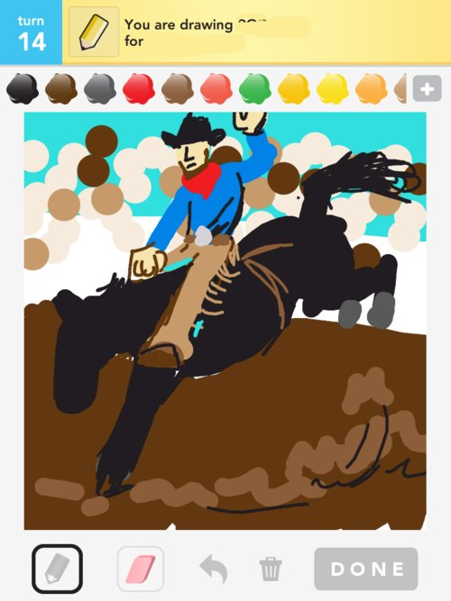 Rodeo Drawings How To Draw Rodeo In Draw Something The