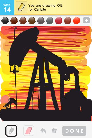 Oil Drawings - The Best Draw Something Drawings and Draw Something 2
