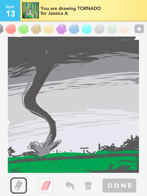 Tornado Drawings - How to Draw Tornado in Draw Something ...