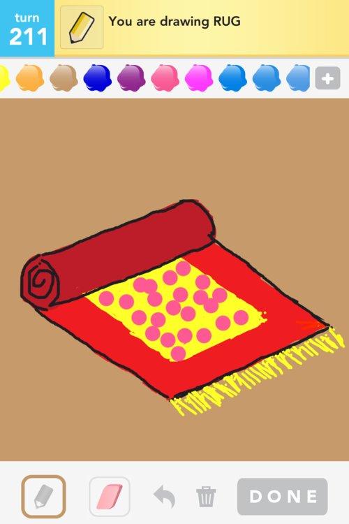How To Draw A Rug Home Decor