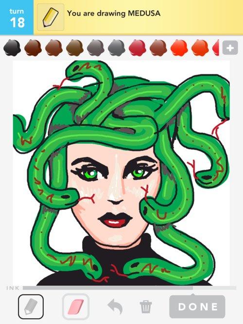 Kids Medusa Drawings – images free download