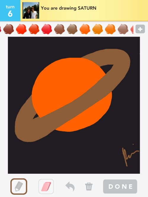 planet saturn drawing - photo #37