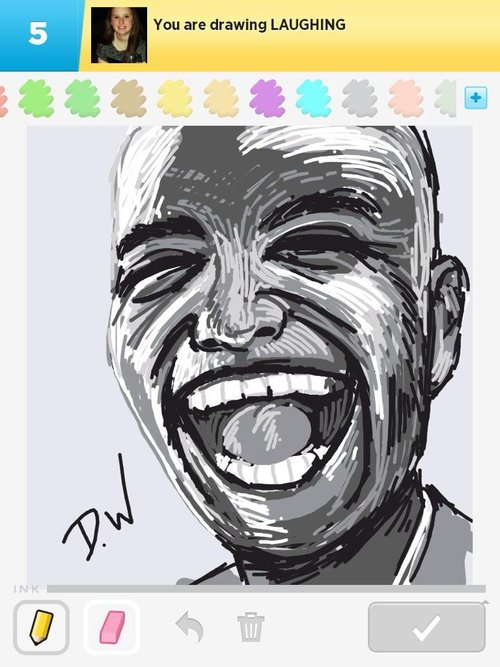 Laughing Drawings - How to Draw Laughing in Draw Something ...