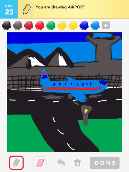 Airport Drawings How To Draw Airport In Draw Something The