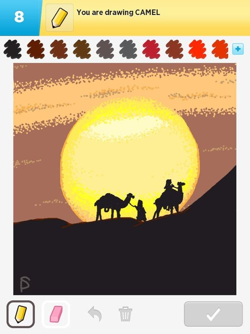 Camel Drawings - How to Draw Camel in Draw Something - The Best Draw