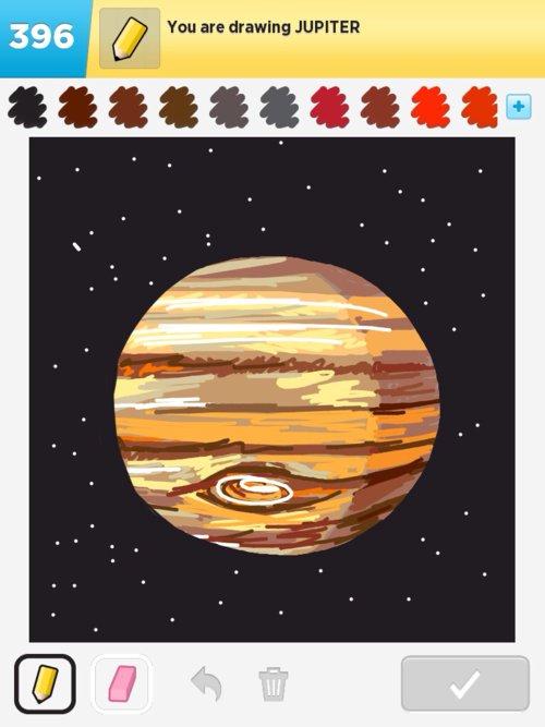planet jupiter drawing - photo #18