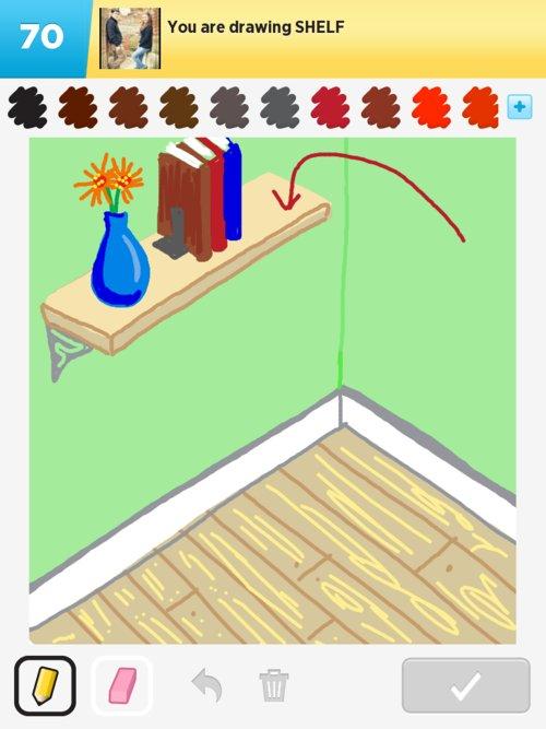 Shelf Drawings How To Draw Shelf In Draw Something The Best Draw