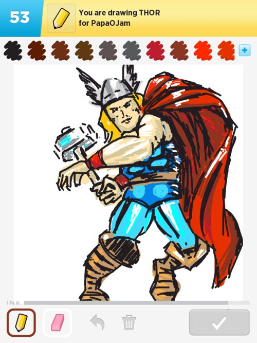 easy thor drawings - photo #18