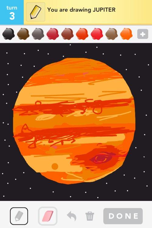 planet jupiter drawing - photo #42
