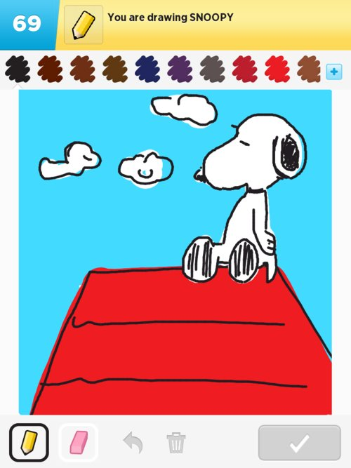 Helloworld25 30: How To Draw Snoopy In Draw Something