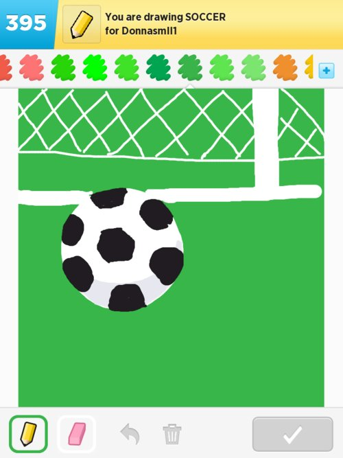 Soccer Drawings - How to Draw Soccer in Draw Something - The