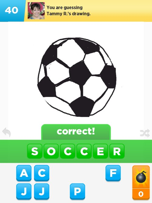 Soccer Drawings - How to Draw Soccer in Draw Something - The Best