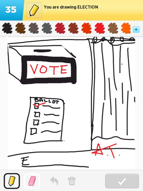 Election Drawings The Best Draw Something Drawings And Draw Something 2 Drawings From Iphone Ipad Ipod And Android