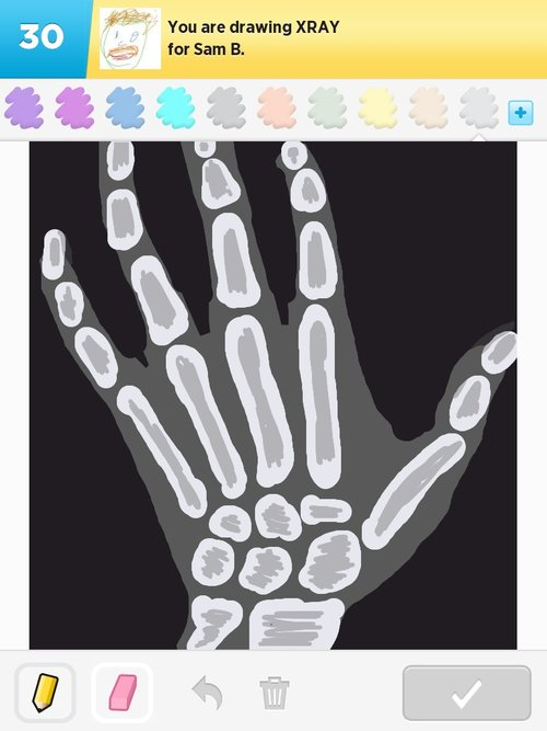 Xray Drawings How To Draw Xray In Draw Something The Best Draw Something Drawings And Draw Something 2 Drawings From Iphone Ipad Ipod And Android