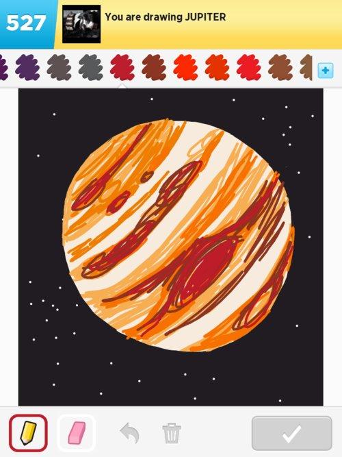 planet jupiter drawing - photo #37