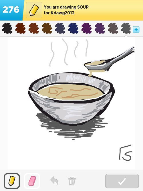 Soup Drawings - How to...
