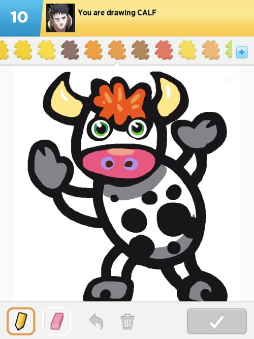 Calf Drawings - The Best Draw Something Drawings and Draw