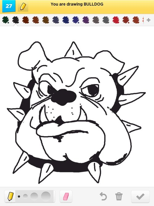 The gallery for --> Bulldog Sketches