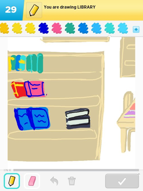 Library Drawings - The Best Draw Something Drawings and Draw