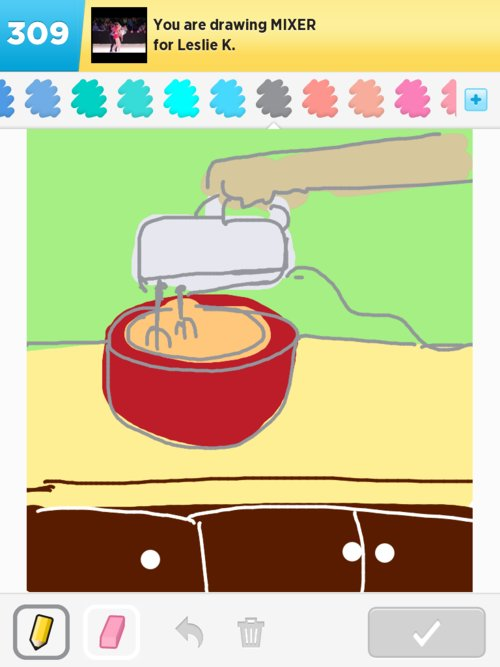 Mixer Drawings - How to Draw Mixer in Draw Something - The