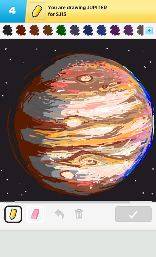 planet jupiter drawing - photo #15