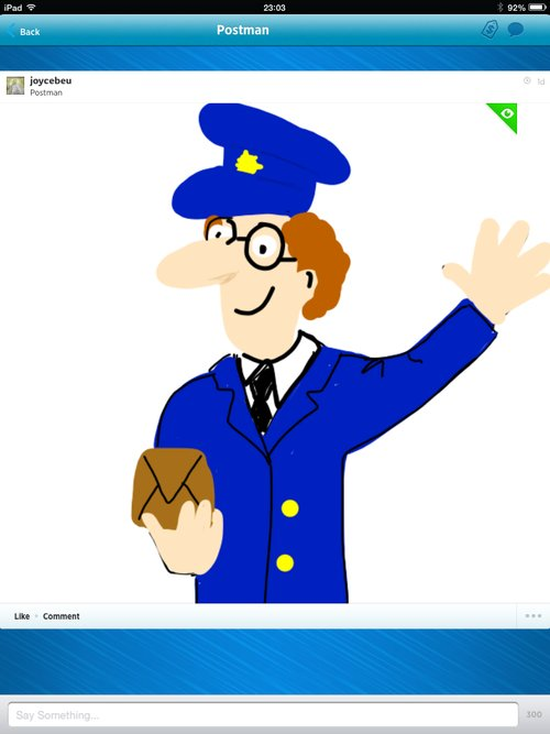 Postman Drawings - The Best Draw Something Drawings and Draw