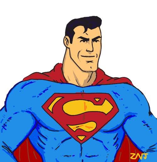 easy superman drawings - photo #22