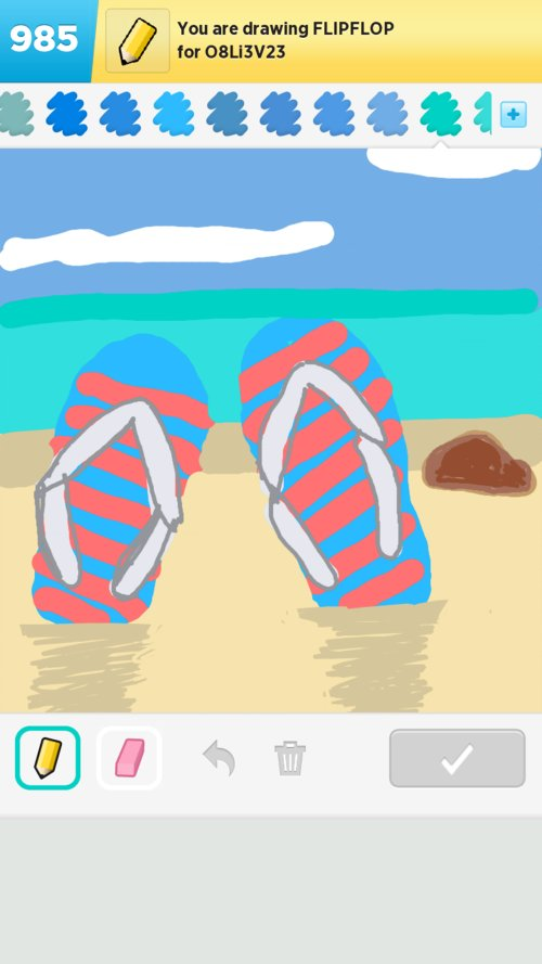 0bad5a0fa7028b Flipflop Drawings - The Best Draw Something Drawings and Draw ...